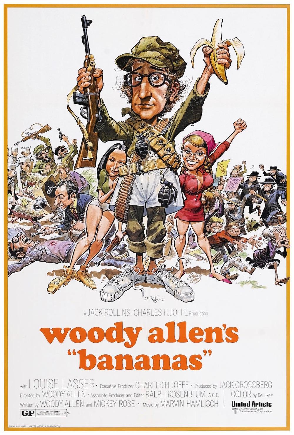 Bananas (1971) | Sylvester Stallone