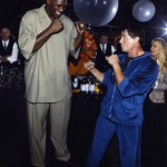 Sly and Shaquille O'Neal