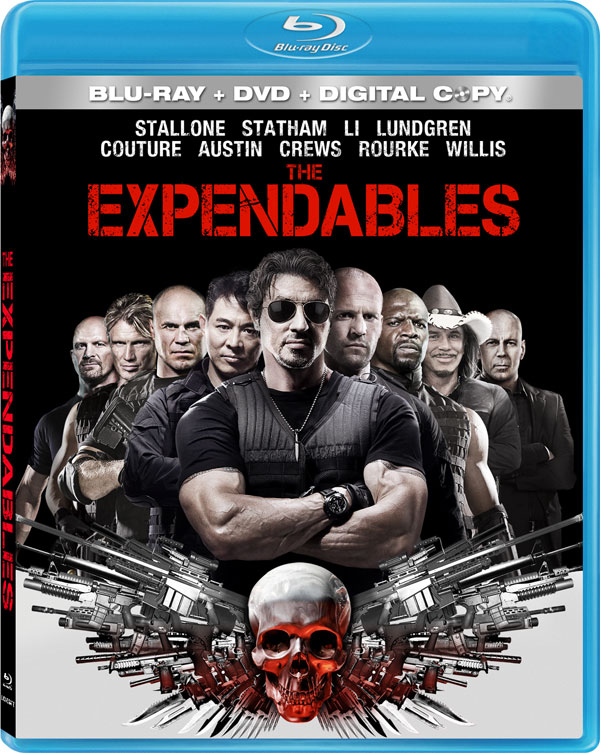 The Expendables on Blu-ray