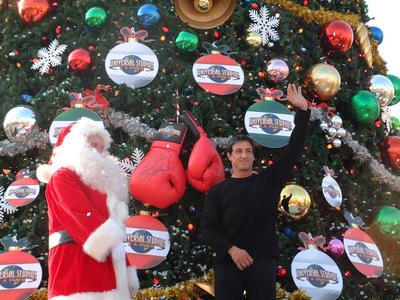 Stallone making a Christmas visit to Japan