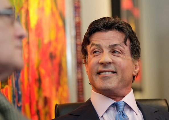 Sylvester Stallone Exhibition Opens in St. Moritz