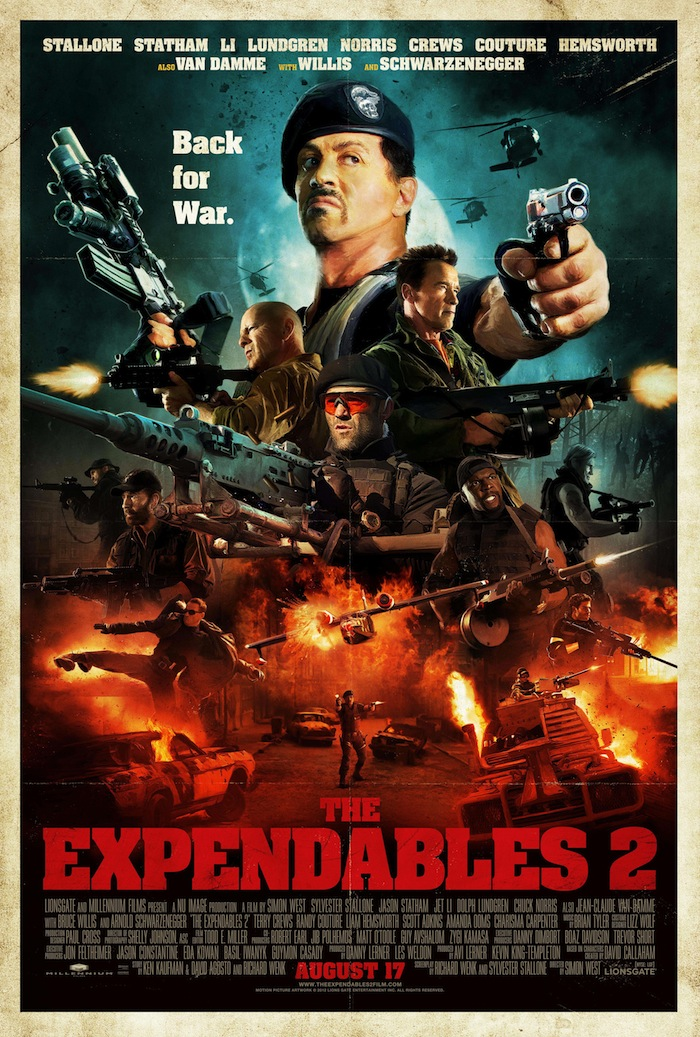 The Expendables 2 - Comic Con