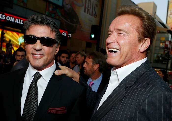 Sly and Arnold - Expendables 2 premiere