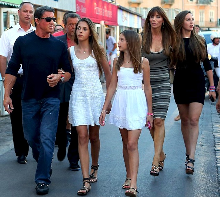 Stallone and family take time out | Sylvester Stallone