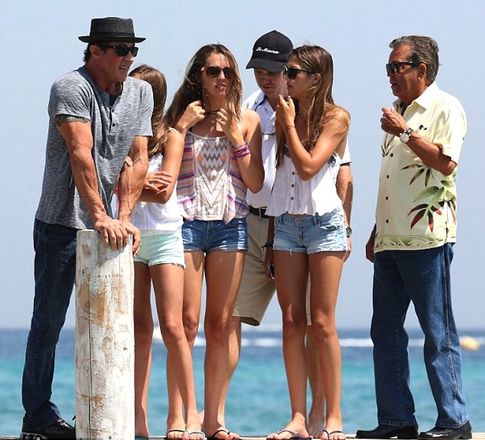 Sly and family
