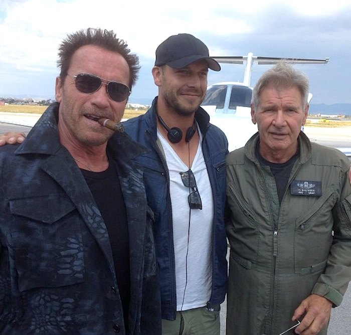 Arnold, Patrick and Harrison Ford