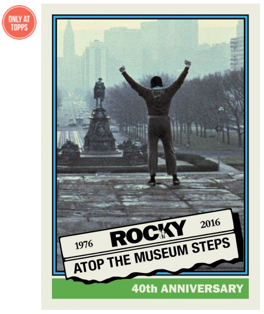 Topps Rocky cards